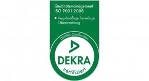 Dekra Zertifikat - Logo