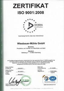 Dekra - Zertifikat